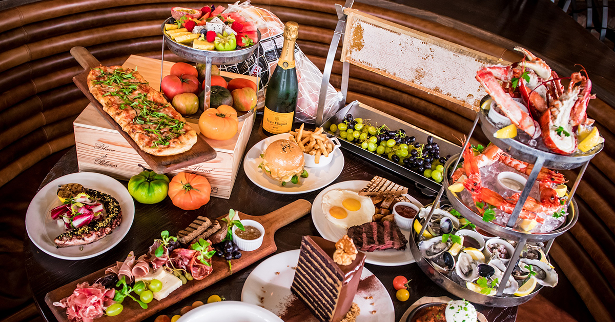 Groovy Lavo Restaurant Singapore Sunday Funday Champagne Brunch At Beutiful Home Inspiration Papxelindsey Bellcom