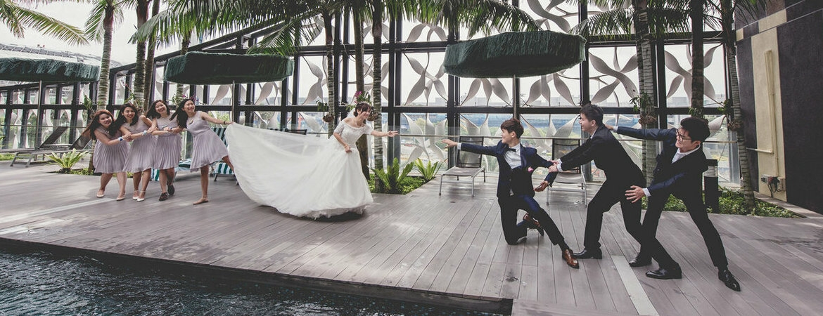 Top Wedding Photographers in Singapore