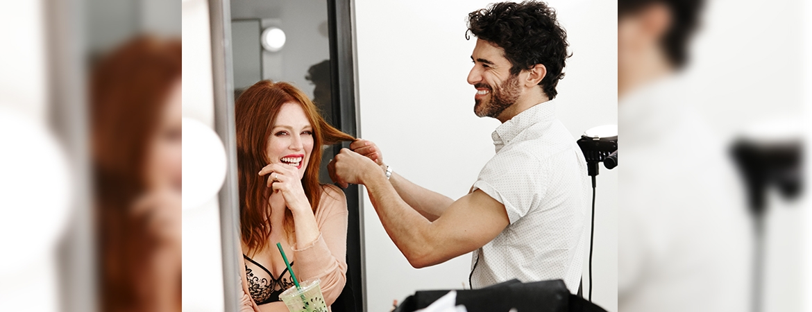 Interview with Julianne Moore, New Face of Florale by Triumph - Banner